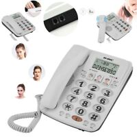 Corded Telephone Phone with Speakerphone and Caller ID/Call Waiting For Home