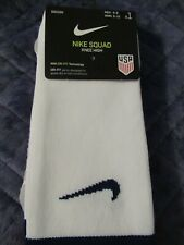 Nike Squad Soccer Knee High USA Men's Socks With Dri-Fit-Men Size 6-8-Free Ship