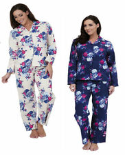 Pajama Sets Floral 100% Cotton Sleepwear for Women