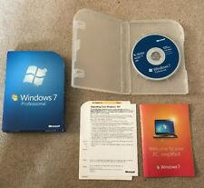 Microsoft Windows 7 Professional UK Retail box FAST POST