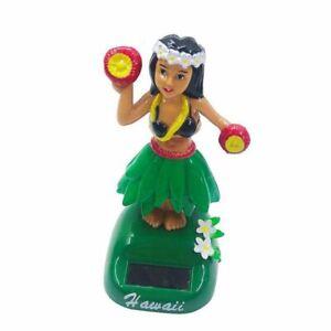 Solar Swinging Hawaiian Girl Doll Car Creative Ornaments Car Decorations Hula