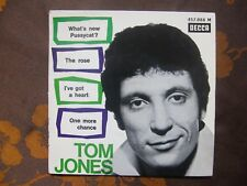 FRENCH EP TOM JONES - What's New Pussycat? +3 / Decca  457.088 M  (1965)