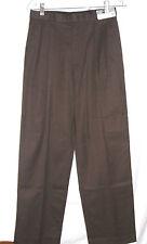 YOUNG MENS HART, SCHAFFNER, MARX DARK BROWN PLEATED DRESS PANTS~SZ 18 ~NWTGS $89