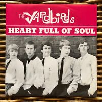 "YARDBIRDS Heart Full of Soul Peace and Love promo 7"" 45 giri vinyl Red Ronnie"