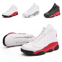 6fed0b07110fc4 New Mens J 13 High Top Breathable Basketball Sport Shoes Sneakers Plus Size  7-13