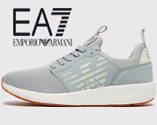 🔥 2019 Authentic Emporio Armani EA7 Simple Racer ® (Men Size UK 7 EU 40.5) Grey