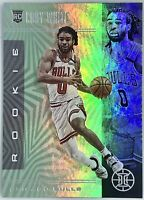 2019-20 Panini Illusions Coby White Teal Prizm Rookie RC Chicago Bulls SP🔥📈