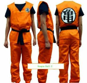 New Cosplay Anime Dragon Ball Z Son GoKu Costume Set Fancy Party clothing uk
