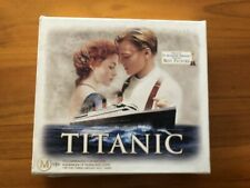 Titanic VHS Video Tape Collectors Edition Box Film Cells Cards