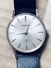 Reloj Seiko 66-9990 de la mano de la bobina de acero inoxidable