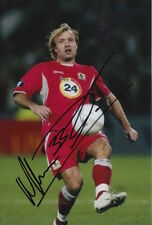 BLACKBURN ROVERS HAND SIGNED MICHAEL GRAY 6X4 PHOTO 1.
