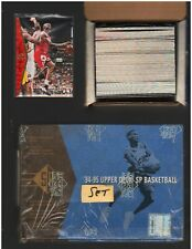 1994-95 Upper Deck 165 basketball set with Michael Jordan card