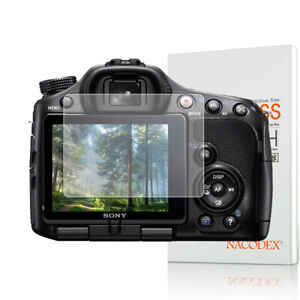 NX For Sony Alpha SLT A33 / A35 / A55 Camera Tempered Glass Screen Protector