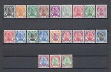 MALAYA/SELANGOR 1949-55 SG 90/110 MINT Cat £110