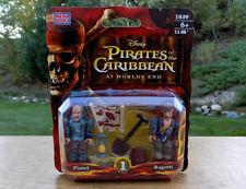 Mega Bloks 1039 PIRATES of the CARIBBEAN PINTEL & RAGETTI Figures Toys NEW! RARE