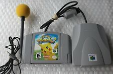 Nintendo 64 N64 ++ Hey You Pikachu Game + VRU + Microphone + Yellow Foam Topper