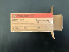 New! Ge Proline 500 Quartz Type T Quantity 5 500 Watts 2000 Hours