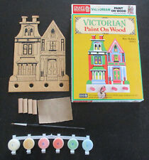 Craft House Paint on Wood Victorian House Key Holder #28303 Ages 10 up NEW