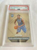 2015-16 panini prizm Karl-Anthony Towns #328 PSA 9 RC NBA basketball Card