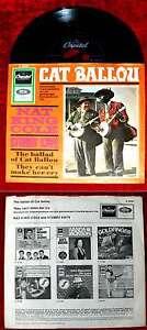 Single Nat King Cole & Stubby Kaye: Cat Ballou (Capitol K 23 021) D 1965