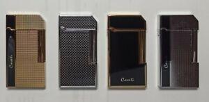 "Caseti Paris "" Rom "" Premium Feuerzeug 4 Motive, edel Deluxe Gasfeuerzeug"
