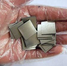 High Purity 99.9% Niobium Nb Metal Sheet Plate 20*20*1mm 3.6g grams #EX1