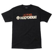 Independent Trucks Certified Depend Skateboard Shirt Black Large