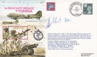 AC71b 50th Anniv of No.1 Parachute Brigade in Tunisia.Flown Hercules Crew Signed
