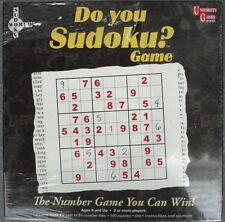 DO YOU SUDOKU? NUMBER PUZZLE GAME BY UNIVERSITY GAMES NIB