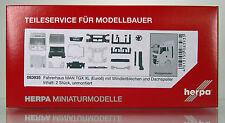 Herpa LKW  083935  Fahrerhaus MAN TGX XL Euro 6 mit WLB & Dachspoiler  2 Stück