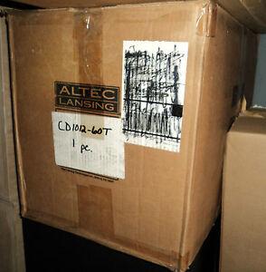 """ALTEC LANSING CD1012-60T 12"""" COAX DUPLEX SPEAKER 300W AES 70 VOLT"""