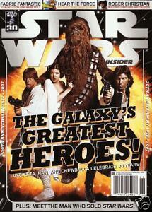 STAR WARS INSIDER #98  Newsstand Cover                    / 2008 Titan Magazines