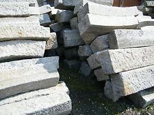 alte Natursteinstufe Granitborde Bordsteine Rundborde Blockstufe Randsteine