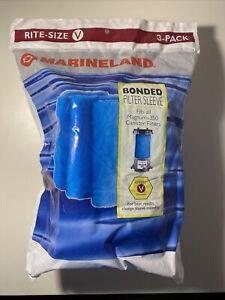 Marineland Bonded Filter Sleeve Magnum 350 Rite Size V 3 pack