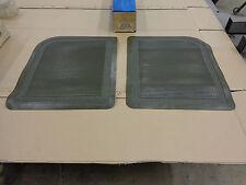 FORD OEM NEW D1FZ-6213106-D Twin Rear Floor Mat Med. Gray Gold Green Old Vinyl