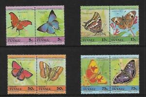 1984 Butterflies set of 8 Complete MUH/MNH as issued