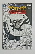 BATMAN TEENAGE MUTANT NINJA TURTLES #1 Newbury Comics Sketch Variant NM+