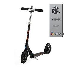 Micro Mobility Scooter Black Interlock Schwarz SA0117 Neu & Ovp