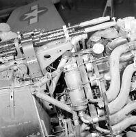 WW2 Photo WWII Captured German Luftwaffe Fw 190 Engine & Guns  Detail /6136