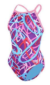 Size 26 Dolfin Uglies Swimsuit Girls Womens New w/tags 9502 LCrazy Hearts 642