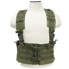 NcSTAR OD Green Tactical Vest 5.56 Chest Rig w/ Magazine Pouches CVARCR2922G