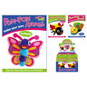 Childrens Pom Pom Kit Make Your Own 3 Animals to Choose From Gift Creative Craft