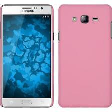 Funda Rígida Samsung Galaxy On7 - goma rosa + protector de pantalla
