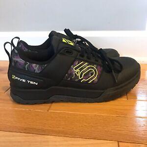 Five Ten Impact Pro Mountain Bike Shoes Black/yellow/NightCamo Womens Size 8.5