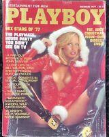 Playboy Magazine December 1977 Fat Juicy Christmas Issue Sondra Theodore