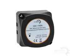 Tensione batteria controllato-trennrelais AUTO/CAMPER BARCA 12 V/140 AMPERE