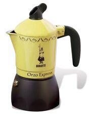 Bialetti New Orzo Caffettiera Da 2 Tazze, Alluminio, Giallo
