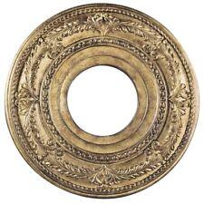 Livex Lighting Ceiling Medallions Ceiling Medallion, Vintage Gold Leaf - 8204-65