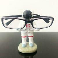 Astronaut Space Planet Figure Spaceman Model Ornament Spectacle Gift Holder X0S6