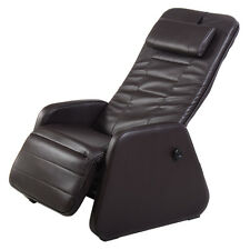 New Zero Gravity Sofa Chair Recliner PU Leather Home Office Furniture Brown